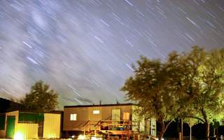 Shower House with Stars