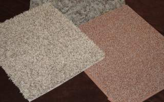 Carpet samples make great kneeling pads